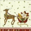 Serwetka do decoupage CHRISTMAS BAKERY SLEIGH V&B 8084
